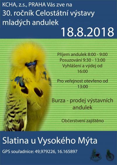 Plakát 30. CVMA